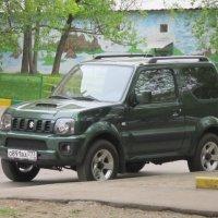 "Тёмно-зелёный джип ""Судзуки"" :: Дмитрий Никитин"