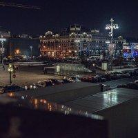 Вечер, огни, город. И приеду домой скоро... :: Ирина Данилова
