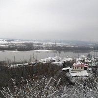 Дома у реки :: Владимир Ростовский