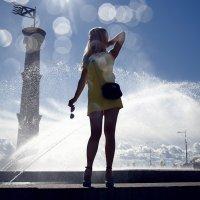 Дина - Прогулка в Парке 300 летия гор. С-пб :: Andrey Pesterev