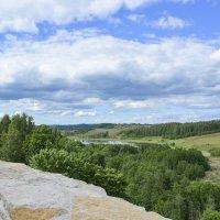 Вид с крепостной стены. :: Виктор Орехов