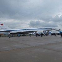 Пассажирский сверзвуковой самолет ТУ-144 :: Andrew