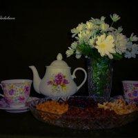 Приглашение к чаю :: Nina Yudicheva