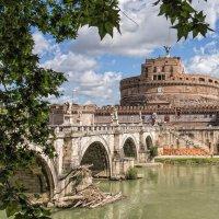 Замок и мост Святого Ангела. Рим. :: Владимир Леликов