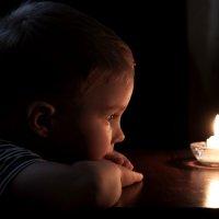 Пламя свечи... :: ФотоЛюбка *