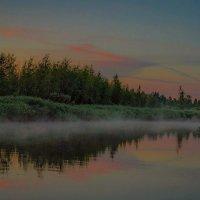 Лёгкий туман на закате... :: Виктор Грузнов