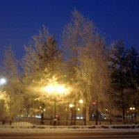 Нягань вечерняя :: Наталья Пендюк Пендюк