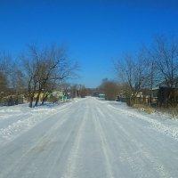 Зимний пейзаж ! :: Татьяна ❁