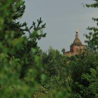 Церковь Богоявления Господня (Богоявленская церковь) в селе Глебовское. :: Анатолий Кушнер