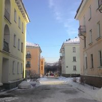*** Разноцветные фасады :: Владимир Звягин