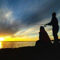на рыбалке) :: Александр Носов