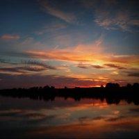 Закат над Содышкой! :: Владимир Шошин