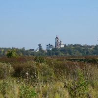 Церковь вдалеке :: Алена Смирнова