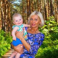 Бабушка с внуком) :: Olga Rosenberg