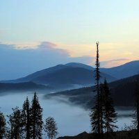 Утро туманное :: Сергей Чиняев