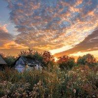 Закат в Молочном :: Валерий Талашов