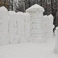 Снежная крепость :: Владимир Болдырев
