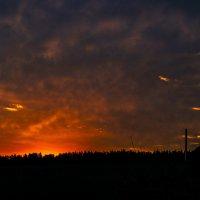 Яркий восход :: Николай Алексеев