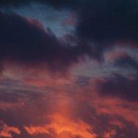 зимний закат :: Ольга Степанова