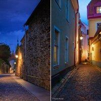 Ночные улицы Таллина. Лето 2015г. :: Наталья Вендт Фотограф&Дизайнер
