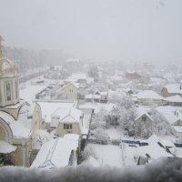 Первый снег 2.12.2015 :: Irina Gizhdeu
