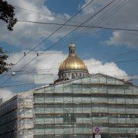 Купол Исаакиевского собора. Вид с Конногвардейского бульвара. :: Фотогруппа Весна.