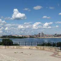 Облака над Казанкой :: Grey Bishop