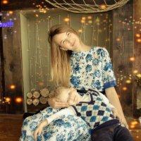 Самая счастливая женщина на свете – это, конечно же, мама, у которой есть дети. :: Наталья Александрова