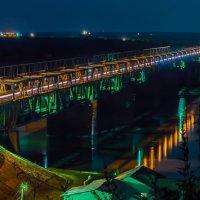 """""""Cтарый мост"""" Барнаула :: Андрей Поляков"""