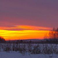 Восход солнца :: Евгений МЕРКУШЕВ