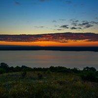 Рассвет над водохранилищем. :: ALEXANDR L