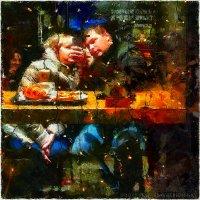 В кафе :: Станислав Лебединский