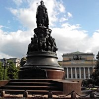 Памятник Екатерине II — памятник на площади Островского в Санкт-Петербурге :: Елена Смолова