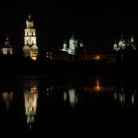 Дивеевский монастырь ночью :: Андрей Холенко