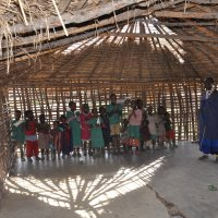 Танзания. В гостях у масаев. Школа. :: Елена Савчук