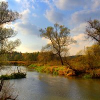 А речка тихо катится... :: Вячеслав Минаев