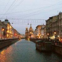 Вечер. Канал Грибоедова. Спас-на-Крови. :: Лия ☼