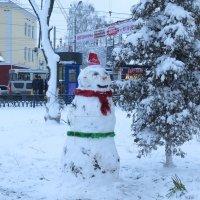 Снеговик :: Геннадий Храмцов