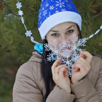 Новогодняя Аня :: Ольга Ярахтина