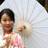 В японском саду :: Антонина