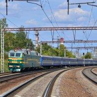 Электровоз ЧС7-229 :: Денис Змеев