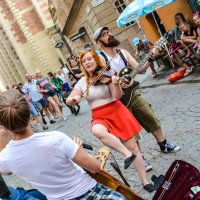 Уличные музыканты в Швеции :: Yelena LUCHitskaya