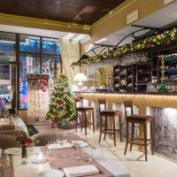 Рождественский интерьер ресторана :: Vlad Ross