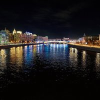 Москва. Вид на Москву-реку с Новоарбатского моста :: Игорь Иванов