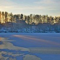 Вечер на озере. :: vkosin2012 Косинова Валентина