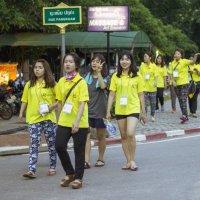 Лаос. Вьентьян. Китайские студентки :: Владимир Шибинский