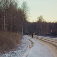 На зимней дороге :: Фотогруппа Весна.