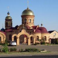 Церковь Блаженной Матроны Московской :: Вера Щукина