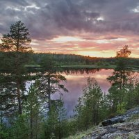 Карелия, река Чирка-Кемь :: Валерий Толмачев
