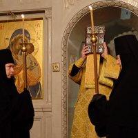 Монастырь. Повседневная жизнь. Святый отче, Николае, моли, Бога, о нас! :: Геннадий Александрович